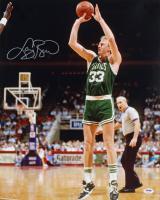 Larry Bird Signed Celtics 16x20 Photo (PSA COA) at PristineAuction.com