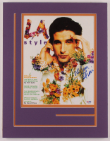 """William Baldwin Signed """"LA Style"""" 14x18 Custom Matted Magazine Cover Page Display (PSA COA) at PristineAuction.com"""