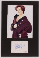 Rosie O'Donnell Signed 12x18 Custom Matted Cut Display (PSA COA) at PristineAuction.com
