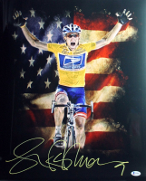 Lance Armstrong Signed 16x20 Photo (Beckett COA) at PristineAuction.com