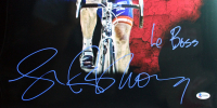 """Lance Armstrong Signed 16x20 Photo Inscribed """"Le Boss"""" (Beckett COA) at PristineAuction.com"""