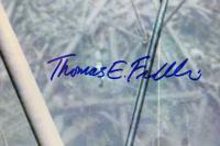 "Thomas E. Franklin Signed ""Raising the Flag at Ground Zero"" 16x20 Photo Inscribed ""9/11/2001"" (PSA COA) at PristineAuction.com"