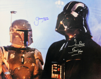 "David Prowse & Jeremy Bulloch Signed ""Star Wars: The Empire Strikes Back"" 16x20 Photo Inscribed ""Darth Vader"" & ""Boba Fett"" (Beckett COA) at PristineAuction.com"