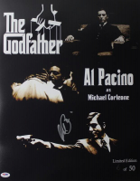 "Al Pacino Signed LE ""The Godfather"" 16x20 Photo (PSA COA) at PristineAuction.com"