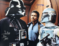 "David Prowse & Jeremy Bulloch Signed ""Star Wars"" 16x20 Photo Inscribed ""Darth Vader"" & ""Boba Fett"" (Beckett COA) at PristineAuction.com"