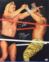 Greg Valentine & Brutus Beefcake Signed WWE 16x20 Photo (PSA COA) at PristineAuction.com