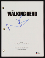 """Norman Reedus Signed """"The Walking Dead"""" Episode Script (Beckett COA) at PristineAuction.com"""