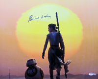 """Daisy Ridley Signed """"Star Wars: The Force Awakens"""" 16x20 Photo (PSA COA & Steiner Hologram) at PristineAuction.com"""