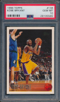Kobe Bryant 1996-97 Topps #138 RC (PSA 10) at PristineAuction.com