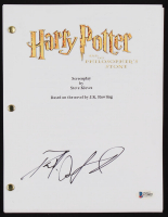 """Daniel Radcliffe Signed """"Harry Potter and the Philosopher's Stone"""" Script (Beckett COA) at PristineAuction.com"""