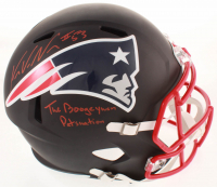 "Kyle Van Noy Signed Patriots Full-Size AMP Alternate Speed Helmet Inscribed ""Patsnation"" & ""The Boogeyman"" (PSA COA) at PristineAuction.com"