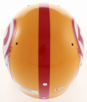 Sonny Jurgensen Signed Redskins Full-Size Throwback Suspension Helmet With (4) Inscriptions (Beckett COA) at PristineAuction.com