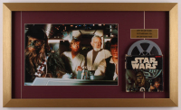 """Star Wars: Return of the Jedi"" 15x25 Custom Framed Print Display with Vintage 8mm Film Reel at PristineAuction.com"