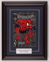 "Vintage 1990 'Spider-Man"" Issue #1 13.5x17.5 Custom Framed Marvel First Issue Comic Book at PristineAuction.com"