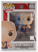 Kurt Angle Signed WWE #55 Funko Pop! Vinyl Figure (PSA Hologram) at PristineAuction.com