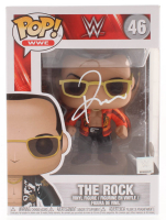 The Rock Signed WWE #46 Funko Pop! Vinyl Figure (JSA Hologram) at PristineAuction.com