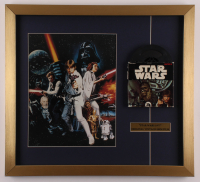 """Star Wars: Return of the Jedi"" 20x22 Custom Framed Photo Display with Vintage Original 1977 8mm Film Reel at PristineAuction.com"