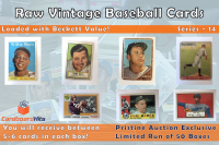 Cardboard Hits Vintage Baseball Mystery Box Series 14 at PristineAuction.com