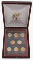 2009 United States Presidential Dollars with (8) Coins & Display Case at PristineAuction.com