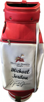 Michael Jordan Signed Wilson Used Golf Bag (JSA LOA & UDA COA) at PristineAuction.com
