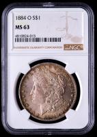 1904-O Morgan Silver Dollar (NGC MS63) (Toned) at PristineAuction.com