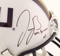 "Joe Burrow Signed LSU Tigers Full-Size Helmet Inscribed ""2019 Heisman"" (Beckett COA) at PristineAuction.com"