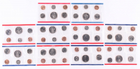 Lot of (5) United States Mint Uncirculated Coin Sets with 1984, 1987, 1988, 1990, & 1993 at PristineAuction.com