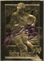 Kobe Bryant 1996 Fleer EX-2000 23KT Gold Card / Purple at PristineAuction.com