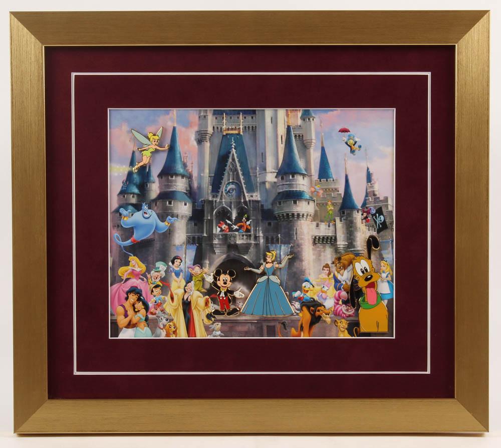 Disney 15x17 Custom Framed Pin Set Display at PristineAuction.com