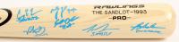"""The Sandlot"" Rawlings Pro Baseball Bat signed by (6) with Tom Guiry, Chauncey Leopardi, Marty York, Shane Obedzinski (Beckett COA) at PristineAuction.com"