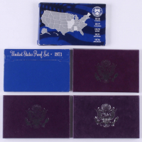 Lot of (5) United States Mint Proof Sets with 1971, 1987, 1988, 1989 & 2003 at PristineAuction.com