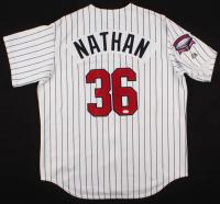 Joe Nathan Signed Twins Jersey (TSE COA) at PristineAuction.com