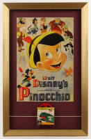 """Pinocchio"" 16x25 Custom Framed Print Display with Vintage Film Reel at PristineAuction.com"