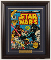 """1977 """"Marvel Special Edition: Star Wars"""" Issue #2 Marvel 16.5x19.5 Custom Framed Comic Book Display at PristineAuction.com"""