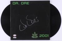 "Dr. Dre Signed ""2001"" Double Vinyl Record Album Cover (PSA Hologram) at PristineAuction.com"