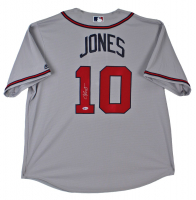 Chipper Jones Signed Braves Jersey (Beckett COA) at PristineAuction.com