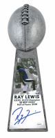 """Ray Lewis Signed Ravens 15"""" Lombardi Football Championship Trophy (JSA COA) at PristineAuction.com"""