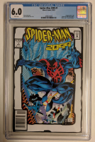 """2001 """"Spider-Man 2099"""" Issue #1 2nd Print Marvel Comic Book (CGC 6.0) at PristineAuction.com"""