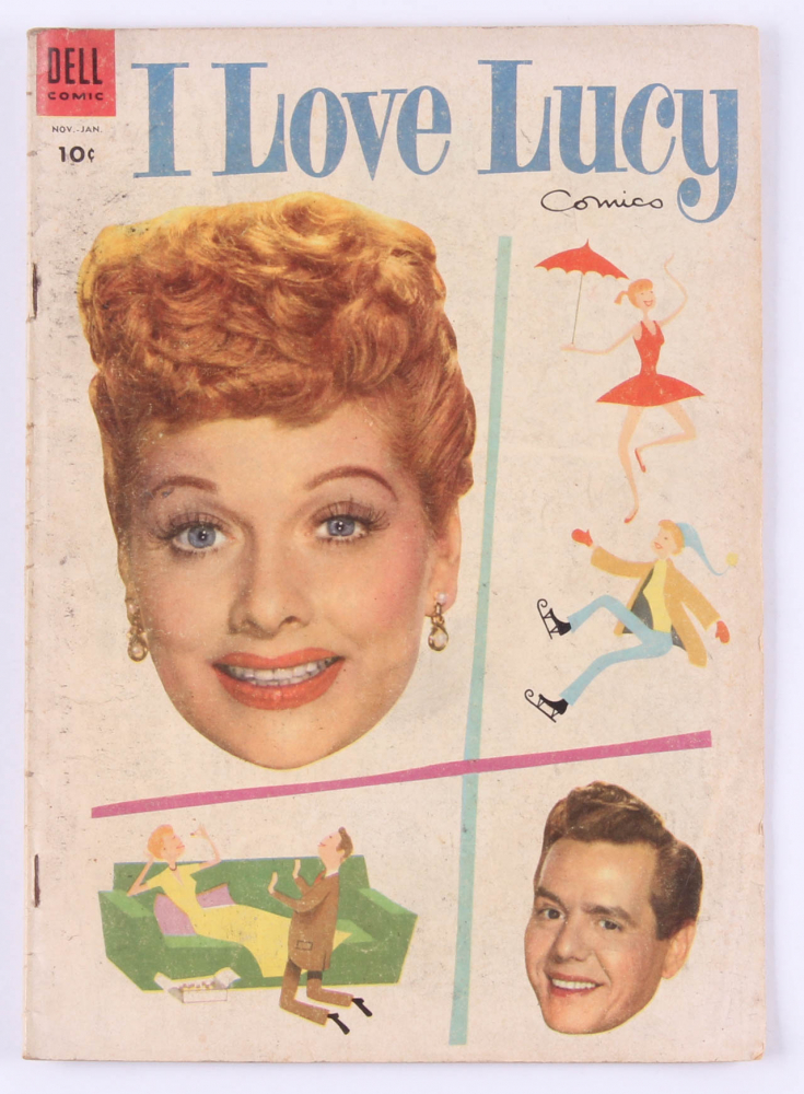 1955  I Love Lucy Issue #4 Dell Comic Book at PristineAuction.com