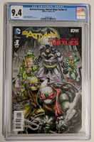 "2016 ""Batman / Teenage Mutant Ninja Turtles"" Issue #1 DC Comic Book (CGC 9.4) at PristineAuction.com"