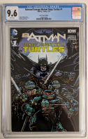 "2016 ""Batman / Teenage Mutant Ninja Turtles"" Issue #1 Variant DC Comic Book (CGC 9.6) at PristineAuction.com"