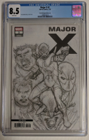 "2019 ""Major X"" Issue #1 3rd Print Variant Marvel Comic Book (CGC 8.5) at PristineAuction.com"