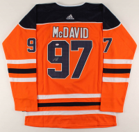 Connor McDavid Signed Oilers Captain Jersey (PSA COA) at PristineAuction.com