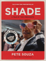 "Pete Souza Signed ""Shade: A Tale of Two Presidents"" Paperback Book (PSA COA) at PristineAuction.com"