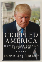 "Donald Trump Signed ""Crippled America"" Hardcover Book (PSA Hologram) at PristineAuction.com"