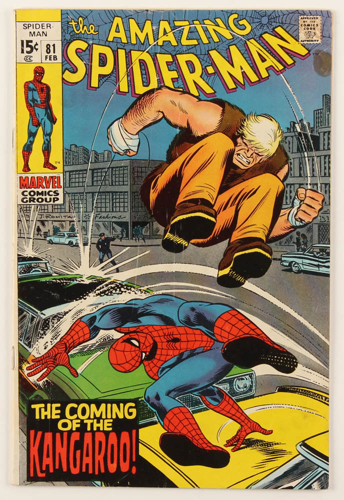 "1970 ""The Amazing Spider-Man"" Issue #81 Marvel Comic Book at PristineAuction.com"