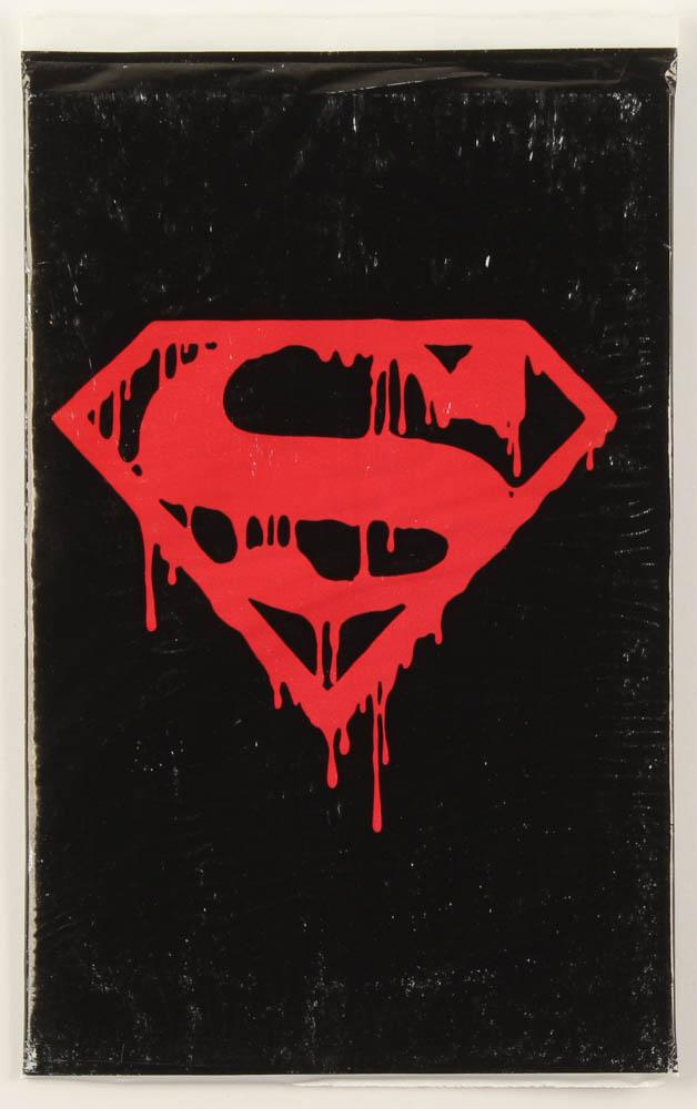 "1992 ""Superman"" Issue #75 DC Comic Book Black Bag Memorial Set at PristineAuction.com"