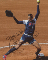 """Cat Osterman Signed Team USA 8x10 Photo Inscribed """"Best Wishes"""" & """"USA"""" (Beckett COA) at PristineAuction.com"""