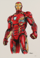 Thang Nguyen Signed LE Iron Man 8.25x11.75 Giclee on Fine Art Paper (Pristine Authentic COA) at PristineAuction.com