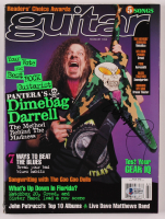 "Dimebag Darrell Signed 1998 ""Guitar"" Magazine (Beckett LOA) at PristineAuction.com"